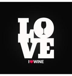 Wine concept label background vector