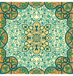 Floral arabesque ornament vector