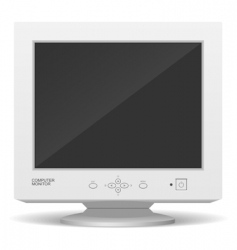 Old monitor vector