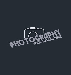 Photography theme template vector
