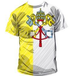 Vatican tee vector