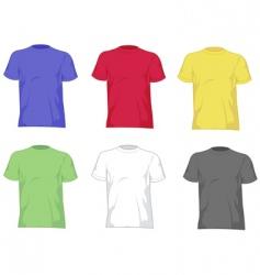 T- shirts vector