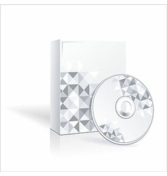 Cd and cd cover vector