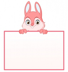 Cartoon bunny vector