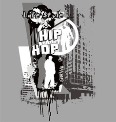 Hiphop vector