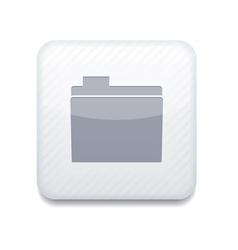 White folder icon eps10 easy to edit vector