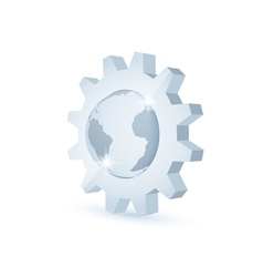 Earth gear vector