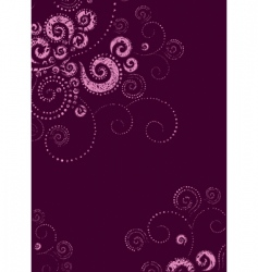 Background twirls vector