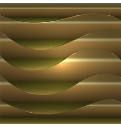 Smooth wavy abstract background vector