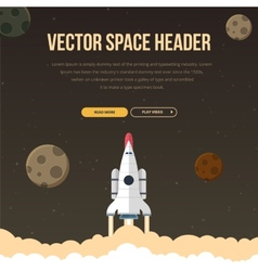 Flat concept for web development vector