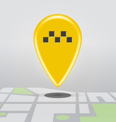 Taxi cab point vector