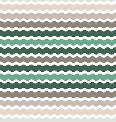 Wave green brown gradient background seamless vector