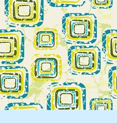 Abstract pattern on a yellow background vector
