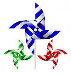 Windmill graphic vector
