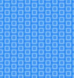 Abstract blue rounded squares pattern vector