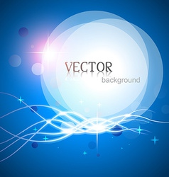 Stylish glowing lines vector