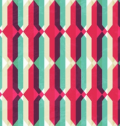 Retro geometric seamless texture vector