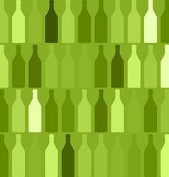 Background bottles green vector
