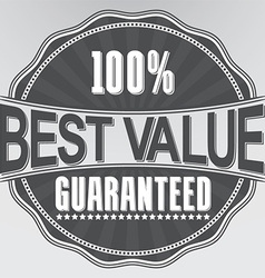 Best value guaranteed retro label vector
