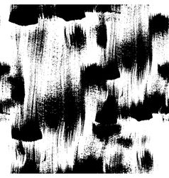 Seamless handmade abstract brush strokes vector