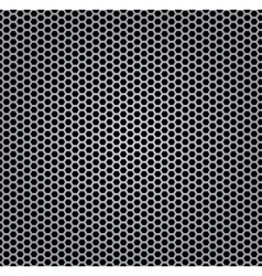 Chrome texture grill vector