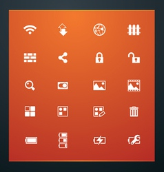 Universal glyphs 15 phone symbols 4 vector