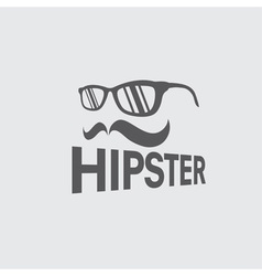 Hipster retro design template vector