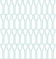 Bottle silhouette pattern vector