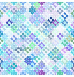 Abstract seamless meta ball pattern vector