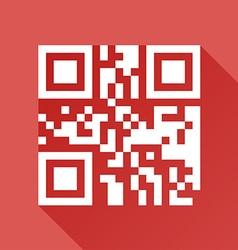 Qr code design vector