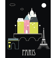 Paris france vector