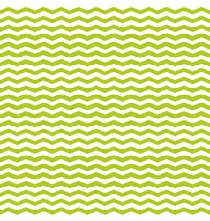 Tile spring pattern with white and green zig zag vector