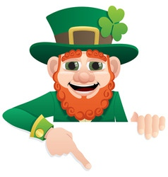 Leprechaun sign vector