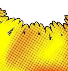 Retro comic book pop art style page vector
