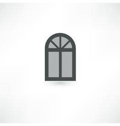 Window icon vector