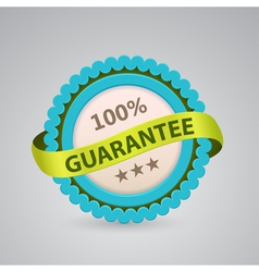 Single label of 100 guarantee vector