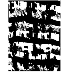 Grunge ink texture vector