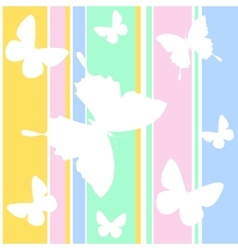 Butterfly wallpaper vector