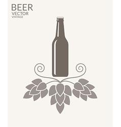 Beer vintage vector