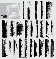Edge grunge two vector