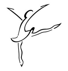 Dance symbol vector