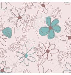 Flower backdrop vector