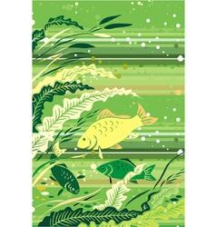 River fish vector