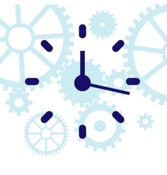 Abstract clock vector