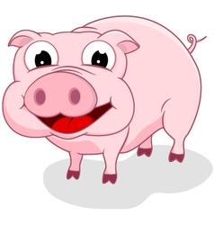 Happy pig vector