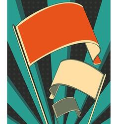 Revolution flag poster vector