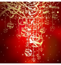 Christmas sparkle vector