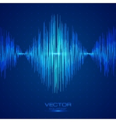 Blue equalizer vector