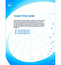 Letterhead design template vector