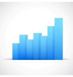 Infograph business graph vector